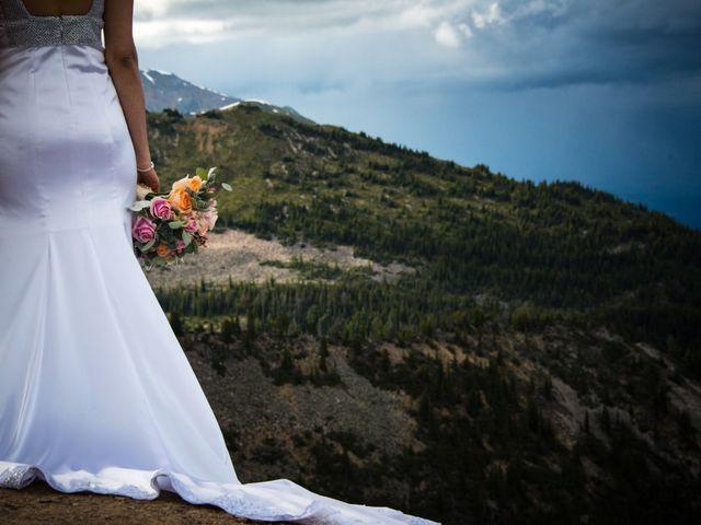 Chris and Adriana's wedding in Golden, British Columbia 29
