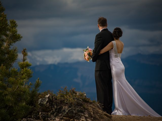 Chris and Adriana's wedding in Golden, British Columbia 30