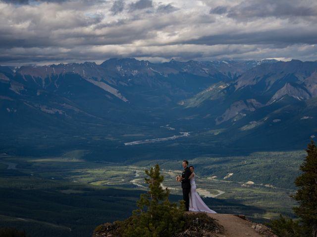 Chris and Adriana's wedding in Golden, British Columbia 31