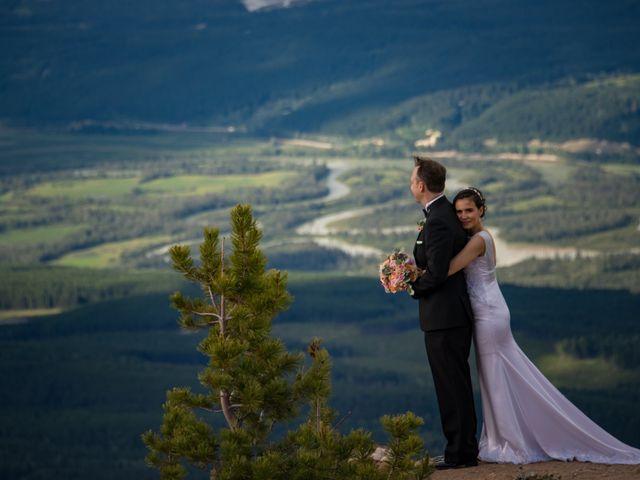 Chris and Adriana's wedding in Golden, British Columbia 32