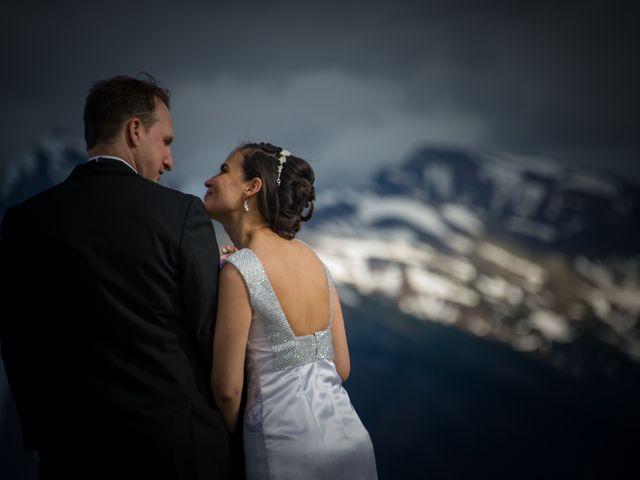 Chris and Adriana's wedding in Golden, British Columbia 33
