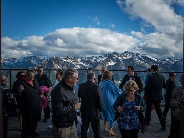 Chris and Adriana's wedding in Golden, British Columbia 38