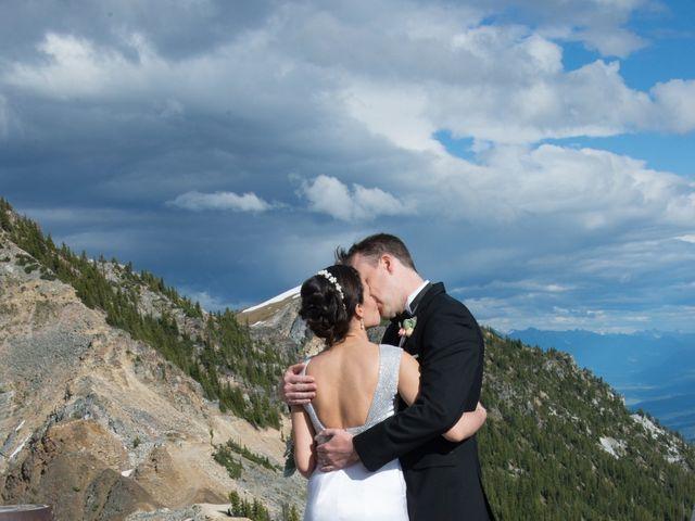 Chris and Adriana's wedding in Golden, British Columbia 40