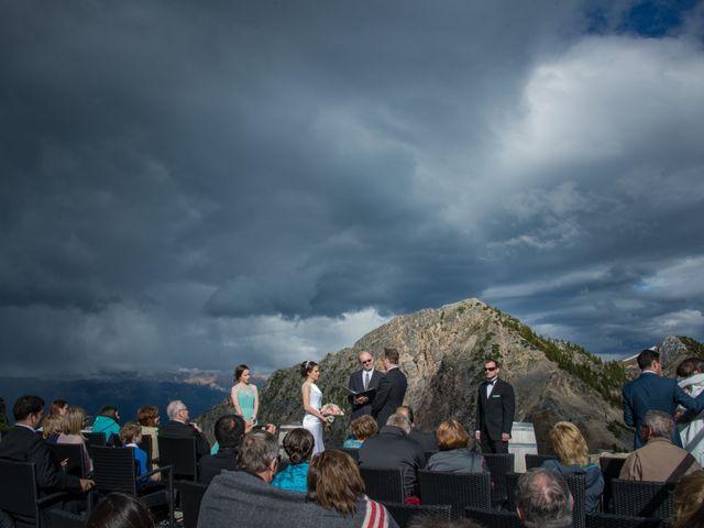 Chris and Adriana's wedding in Golden, British Columbia 45