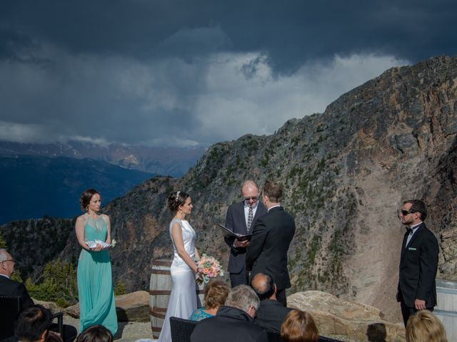 Chris and Adriana's wedding in Golden, British Columbia 46