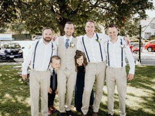 The wedding of Luke and Alana 3