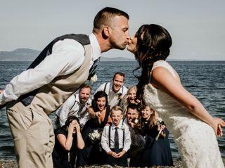 The wedding of Luke and Alana