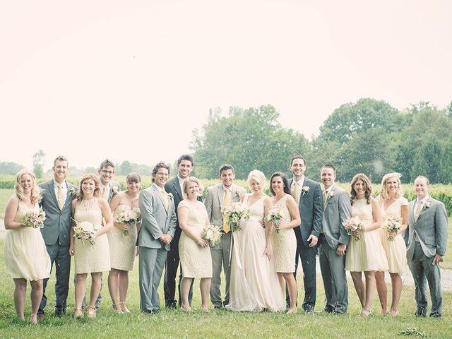 Jon and Molly's wedding in St Davids, Ontario 24