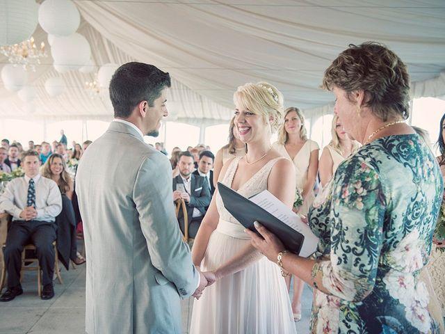 Jon and Molly's wedding in St Davids, Ontario 2