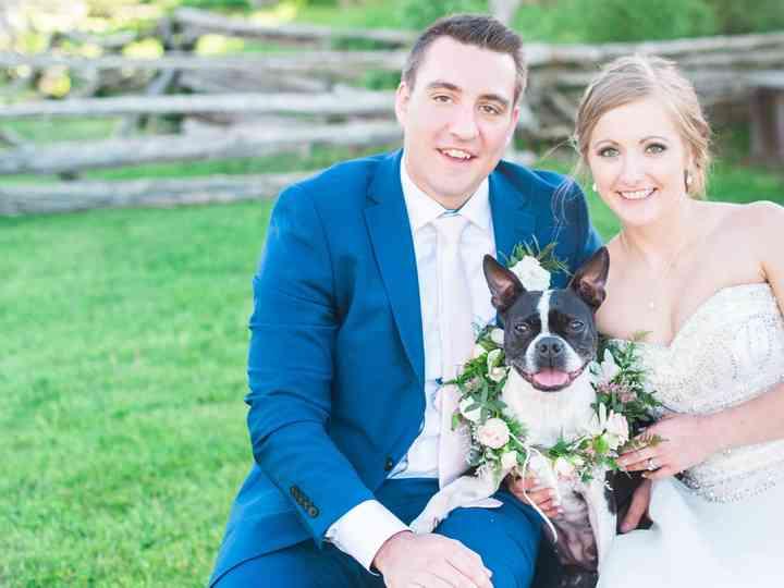 The wedding of Nicole and Stephane