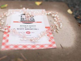 The wedding of Jessica and Scott 1