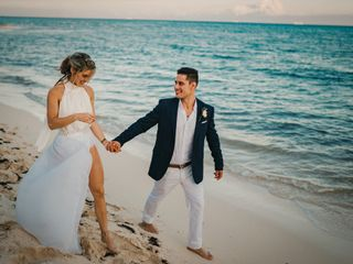 The wedding of Vanessa and Samir