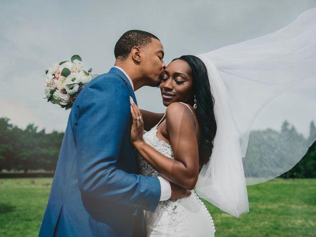 The wedding of Charmony and David