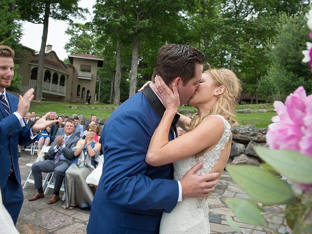 The wedding of Jennifer and Geoff