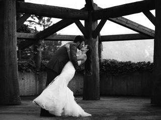 The wedding of Vanessa and Morgan