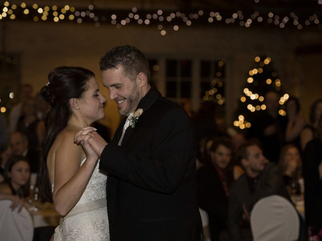 The wedding of Mandie and Adam