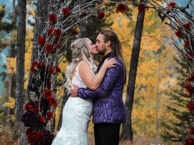 The wedding of Ashlee and John