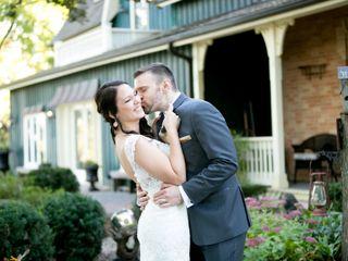 The wedding of Trisha and James