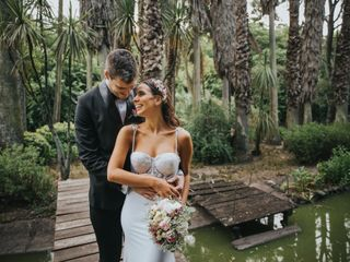 The wedding of Pau and Santi