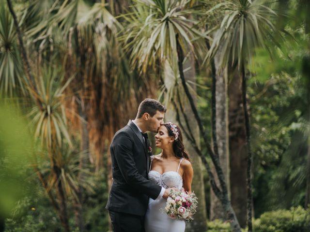 Santi and Pau's wedding in Vancouver, British Columbia 1