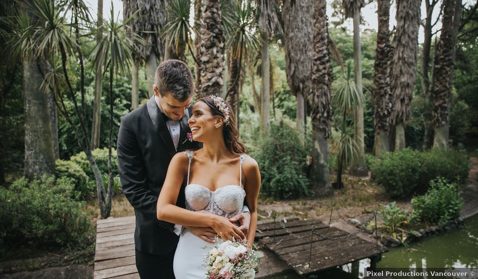 Santi and Pau's wedding in Vancouver, British Columbia