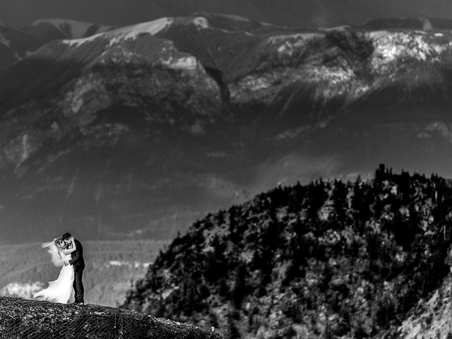 Alistair and Heather's wedding in Golden, British Columbia 4