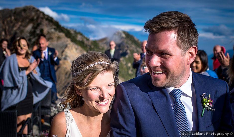 Alistair and Heather's wedding in Golden, British Columbia