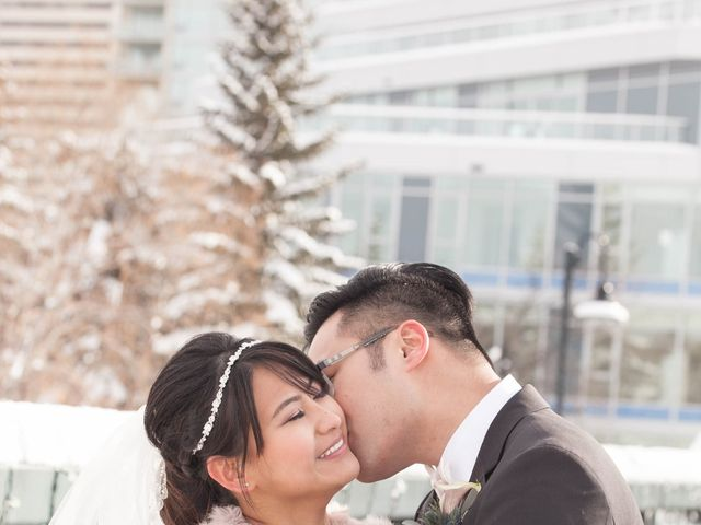 David and Jane's wedding in Calgary, Alberta 17