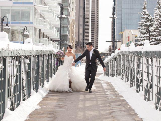 David and Jane's wedding in Calgary, Alberta 19