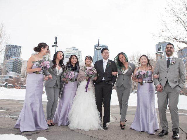 David and Jane's wedding in Calgary, Alberta 37
