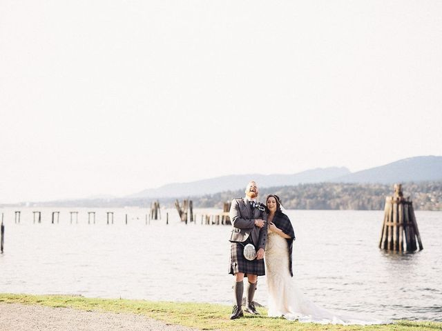 Ben and Galia's wedding in Vancouver, British Columbia 1