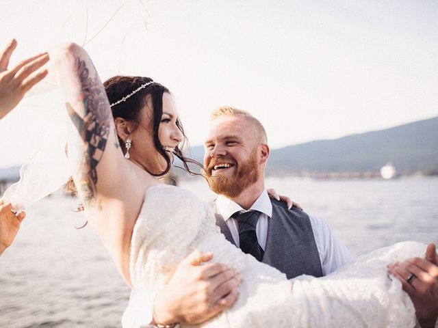 Ben and Galia's wedding in Vancouver, British Columbia 2