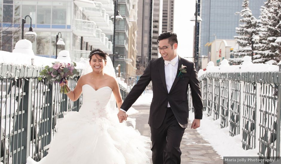 David and Jane's wedding in Calgary, Alberta