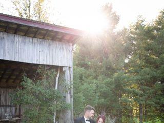 The wedding of Brad and Keisha 1