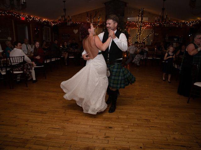 The wedding of Brad and Keisha