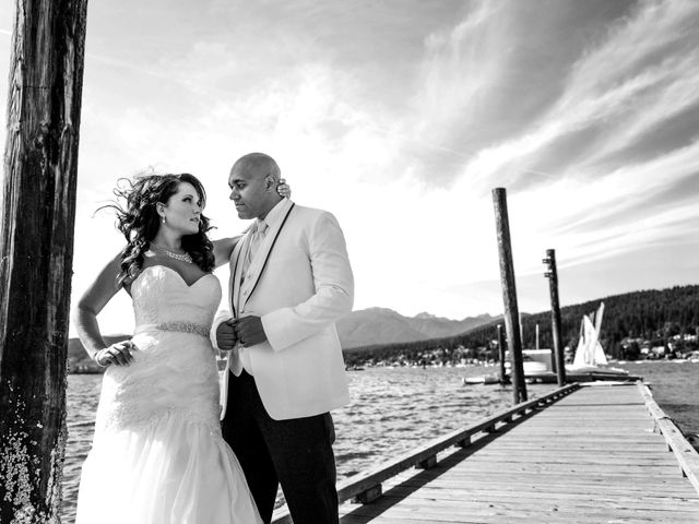 Clyde and Melinda's wedding in Port Moody, British Columbia 1
