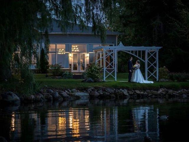The wedding of Alanna and Alex