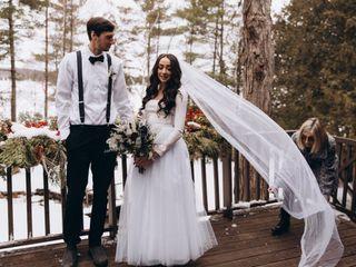 The wedding of Nicole and William 1