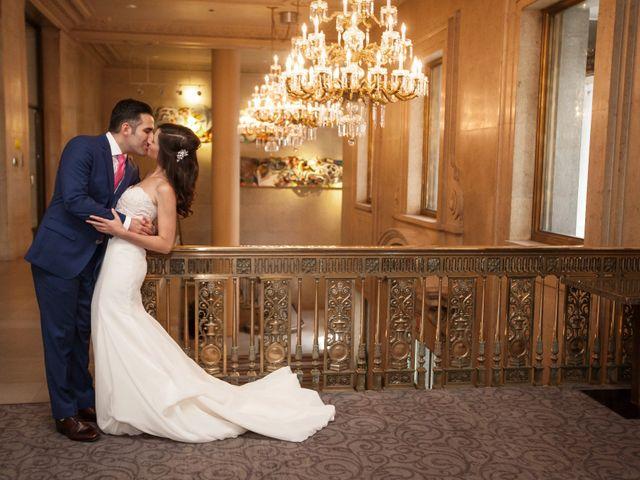 The wedding of Liz and Ezra