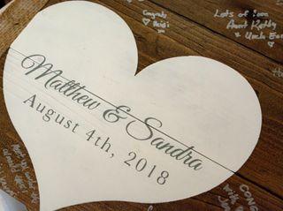 The wedding of Sandra and Matt 2