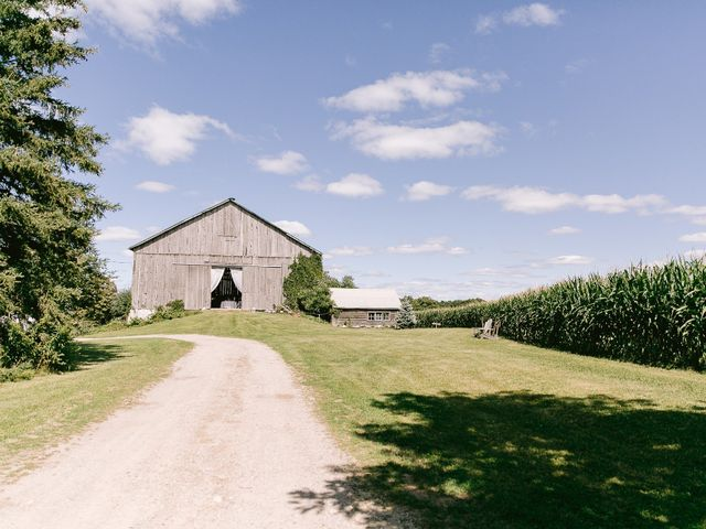 Rob and Jessica's wedding in Erin, Ontario 5