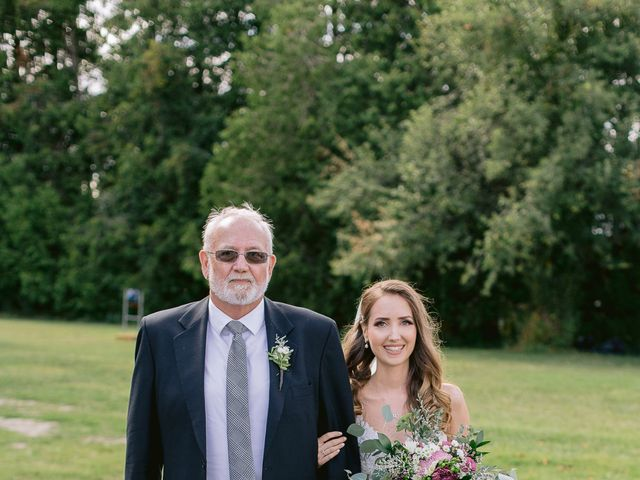 Rob and Jessica's wedding in Erin, Ontario 19