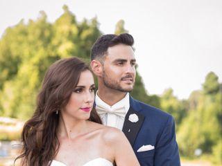 The wedding of Vanessa and Bruno