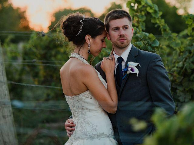 The wedding of Lisette and Tyler