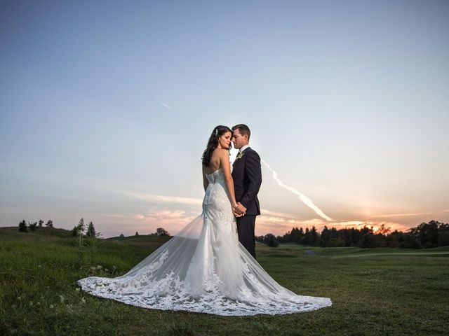 The wedding of Tiffany and Tyler