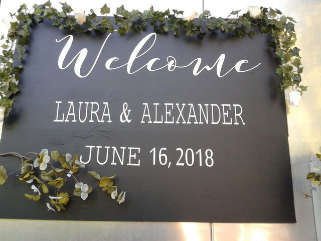 Alexander and Laura's wedding in Lachine, Quebec 1