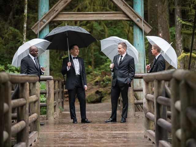 Vincent and Jane's wedding in North Vancouver, British Columbia 18