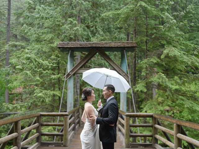 Vincent and Jane's wedding in North Vancouver, British Columbia 24
