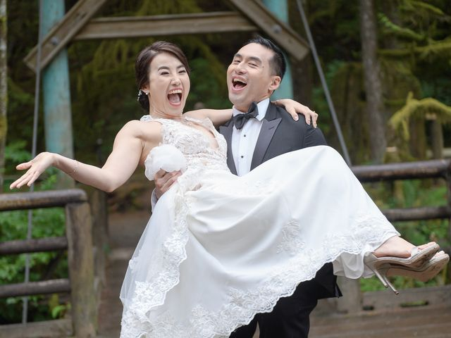 Vincent and Jane's wedding in North Vancouver, British Columbia 1