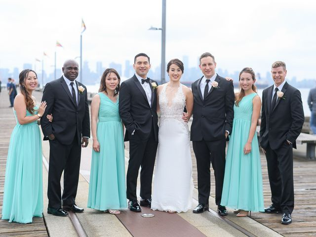 Vincent and Jane's wedding in North Vancouver, British Columbia 30